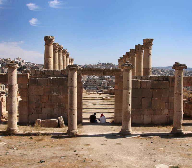 Jerash Tour - Teil 3