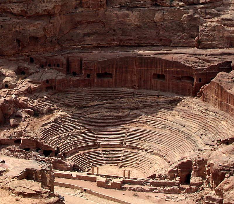 Anfiteatro de Petra