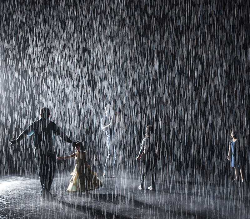 Rain Room, Sharjah