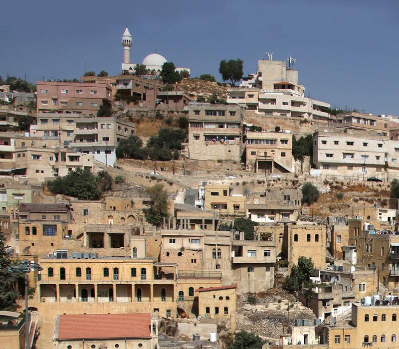 Weg 2: Jebel Qala'a