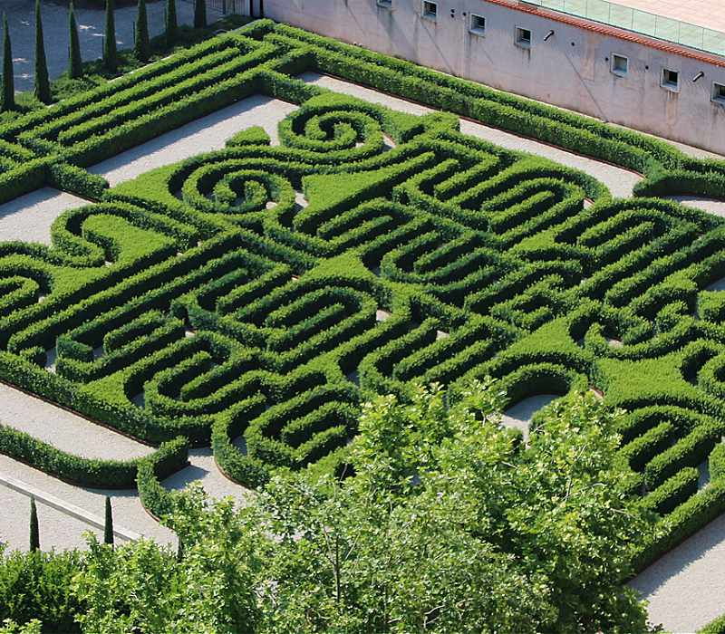 Borges Labyrinth in Venice