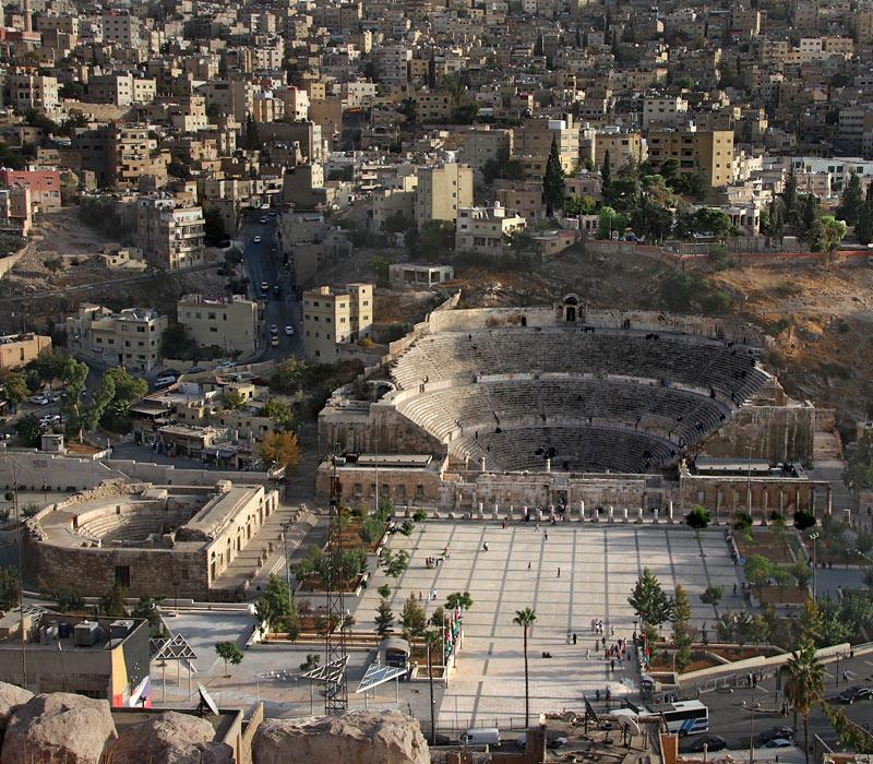 Vom Römischen Theater nach Ras Al Ain