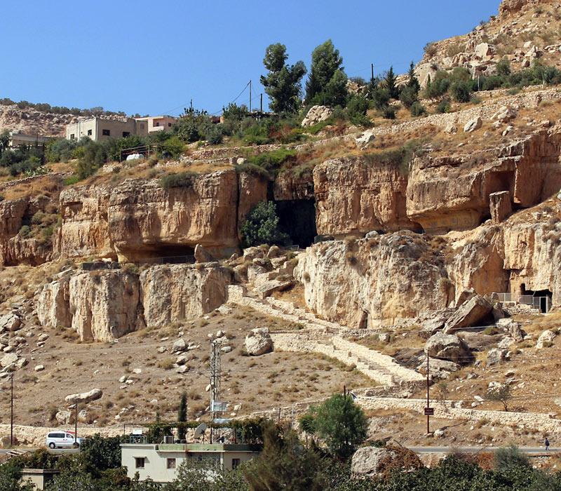 Antiguas grutas Iraq al-Amir