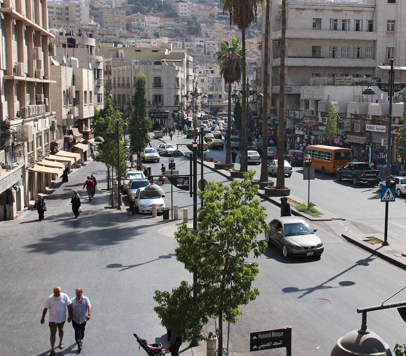 Im historischen Stadtzentrum