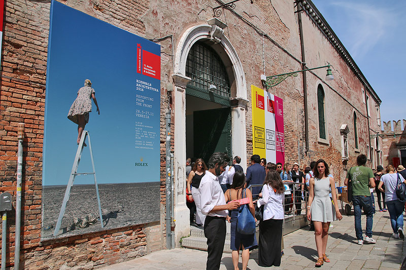 Nationale Pavillons: Arsenale, Stadt