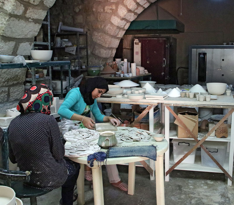 Handicrafts Village Iraq Al Amir Art Destination Jordan