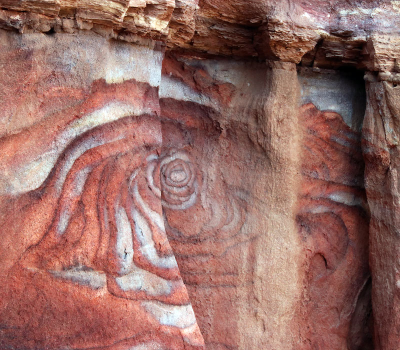 Polychromes Petra