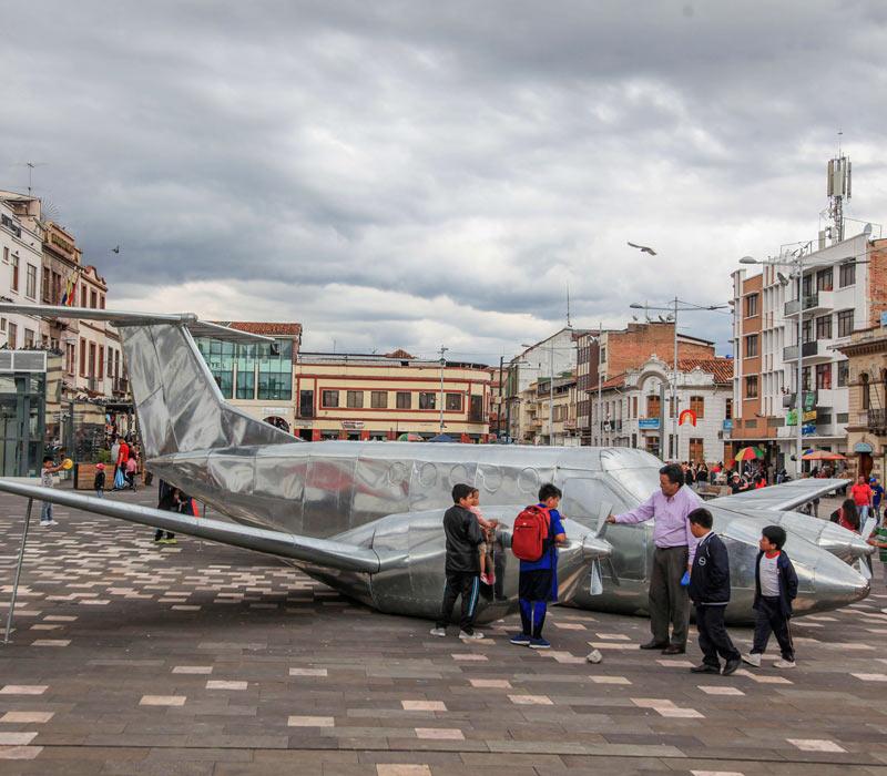 14. Biennale Cuenca 2018 / © Foto: Fundación Municipal Bienal de Cuenca