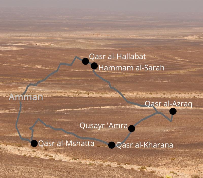 Wüstenschlösser Tour