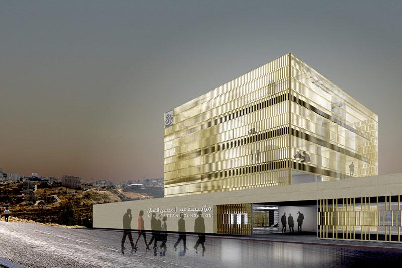 A.M. Qattan Foundation - nuevo edificio en Ramallah