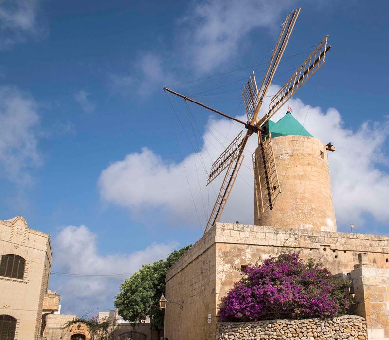 Ta' Kola Windmühle, Gozo